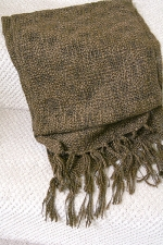 Brown Scarf - suggested donation, $40.00